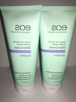 *Set Of 2* EOS Shave Cream for Sensitive Skin 7oz ea.  Aloe,