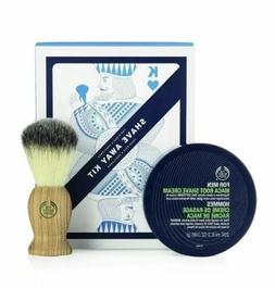 The Body Shop Shave Away Kit, 2pc Paraben-Free Shave Kit for
