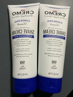 CREMO SHAVE CREAM BARBER GRADE REFRESHING MINT 90 DAY SUPPLY