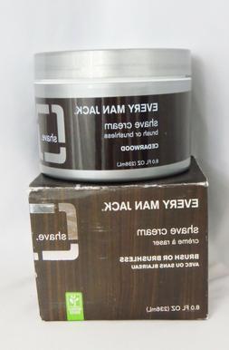 Every Man Jack Shave Cream Brush or Brushless, 8 fl oz