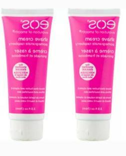 eos Shave Cream Pomegranate Raspberry, 2.5 Ounces Each