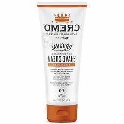 Cremo Shave Cream Sandalwood 6 Oz