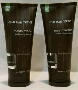 Every Man Jack shave cream sensitive skin 6.7 oz lot of 2 fr