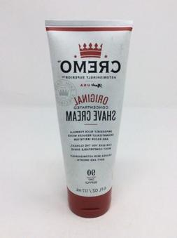 "CREMO SHAVE CREAM ~ ""THE ASTONISHINGLY SUPERIOR SHAVE CREAM"""