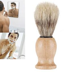 YJYdada Men Shaving Bear Brush Best Badger Hair Shave Wood H