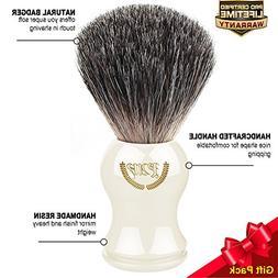 Shaving Brush, 100% Pure Badger, Handmade Handle . For all m