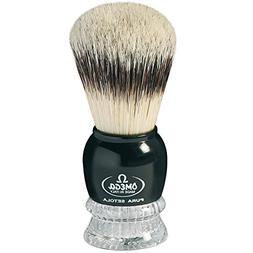 Omega Shaving Brush Pure Bristles #10275 Two Color Combinati