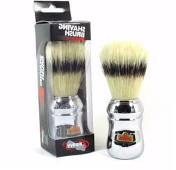 Shaving Brush Omega #4 Silver Handle