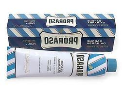 Proraso Shaving Cream, Aloe & Vitamin E, 150ml tube - BLUE