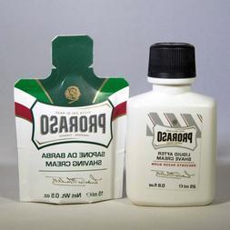 Proraso Shaving Cream & Moisturizer Set, Travel Size *New!*