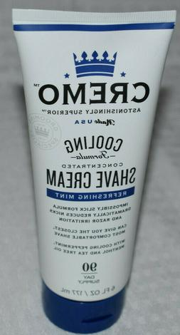 Cremo Shaving Cream Cooling Concentrated Shaving Cream FREE