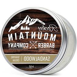 Shaving Cream for Men – With Natural Sandalwood Essential
