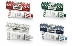 Proraso Shaving Cream Green, White, Red, Blue in tube 4 pcs
