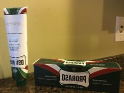 Proraso Shaving Cream in a Tube, Refreshing And Toning, 5.2