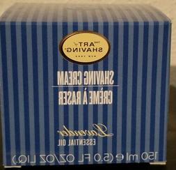 The Art of Shaving Shaving Cream Lavender 5 oz. New In Box