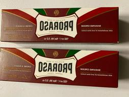 PRORASO Shaving Cream Moisturizing & Nourishing 5.2oz - 2 PA