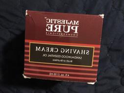 Majestic Pure Cosmeceuticals Shaving Cream, Sandalwood Essen