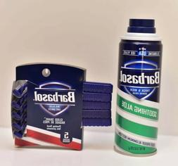 Barbasol Shaving Cream, Soothing Aloe 10 oz & 5 Close Shave