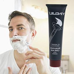 SYlive 1pc Men Shaving Foam Manual Razor Shaving Cream for T