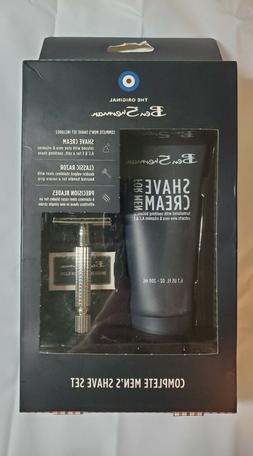 shaving set 3 pieces shave cream razor