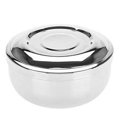 Shaving Soap Bowl, Universal Men Stainless Steel Beard Shavi