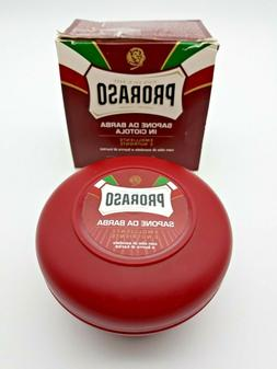 PRORASO Shaving Soap Moisturizing and Nourishing Sandalwood