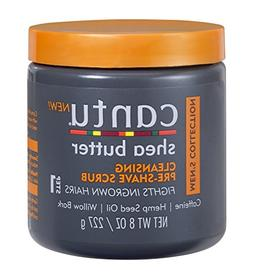 Cantu Shea Butter Men's Collection Cleansing Pre-Shave Scrub