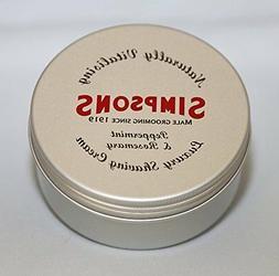 Simpsons Shaving Cream Peppermint & Rosemary 125 ml Tin