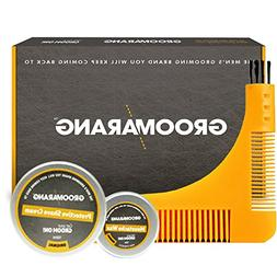 Groomarang Starter Collection Beard Comb Moustache Wax 15ml