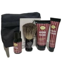The Art of Shaving 4 Piece Starter Kit with Bag, Lavender