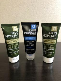 Duke Cannon Superior Grade Shaving Cream 2 oz Aloe Barbersho