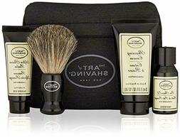 The Art of Shaving 4 Piece Starter Kit with Bag, Unscented