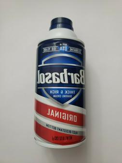 Barbasol Thick and Rich Shaving Cream 10 oz. - 283 g.