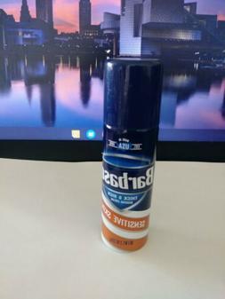 @Barbasol Thick and Rich Shaving Cream Sensitive Skin Travel