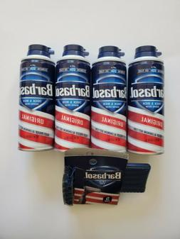Barbasol Thick & Rich Shaving Cream with Aloe 3 x 5 oz cans
