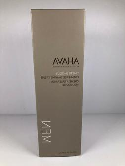 AHAVA Men's Foam-Free Shaving Cream, 6.8 oz/200ml