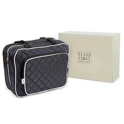 Ellis James Designs Large Travel Toiletry Bag for Women with