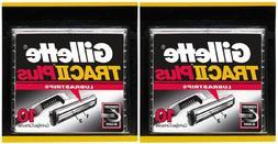Gillette TRAC II Plus Refill Cartridges - 10 ct - 2 Pack