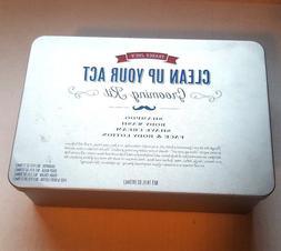 TRADER JOE'S Clean Up Your Act Mens Grooming Kit Shampoo Sha