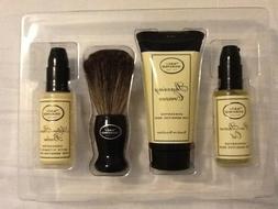 The Art of Shaving Travel / Starter Kit, Unscented - Oil, Cr