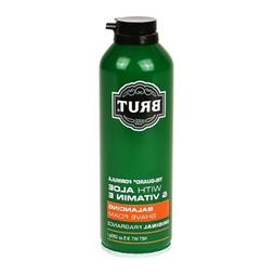 Brut Tri-Guard Balancing Shave Foam with Aloe Original Fragr