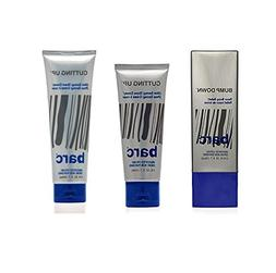 Barc Unscented 3 Pc. Set: Cutting Up Shave Cream 2oz+Cutting