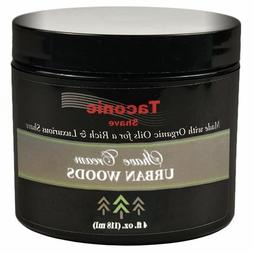 Taconic Shave URBAN WOODS Shaving Cream with Organic Oils -
