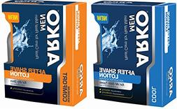 Arko After Shave Lotion Variety Pack, Cool, 2 Count