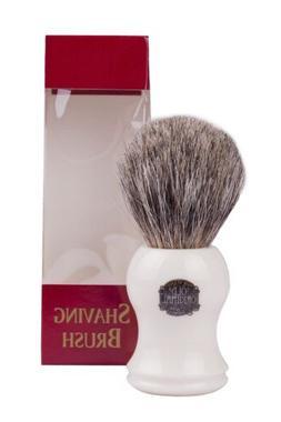 Vulfix 2006C Pure Badger Shaving Brush, Cream Handle