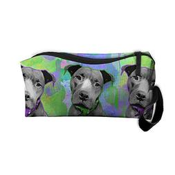 Watercolor And Pop Art Dog Travel Toiletry Bag Buggy Bag Org