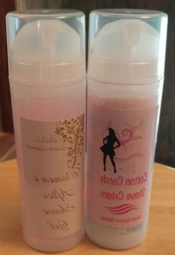 Handmade Women's Cotton Candy Set Shave Cream & Aftershave G